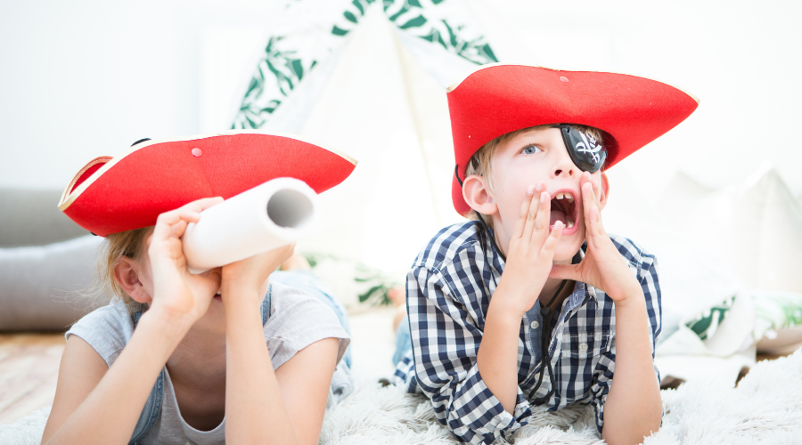 A good activity like treasure hunt can aid in your childs development