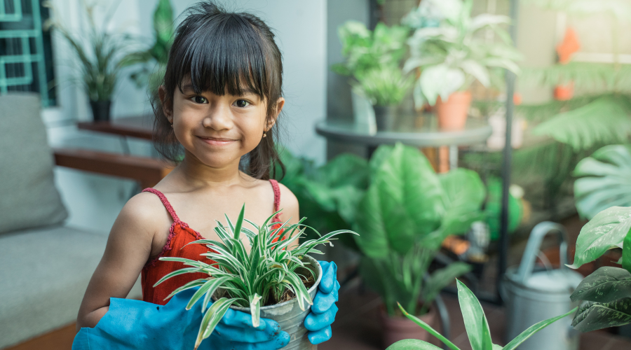 keep your kids occupied with home gardening activites