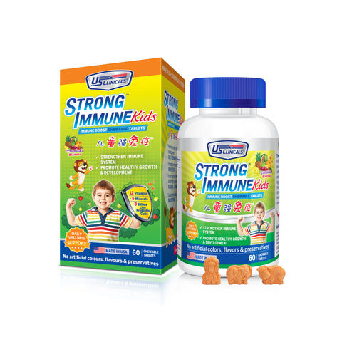 StrongImmune Kids help children to stay healthy to fight off viruses.