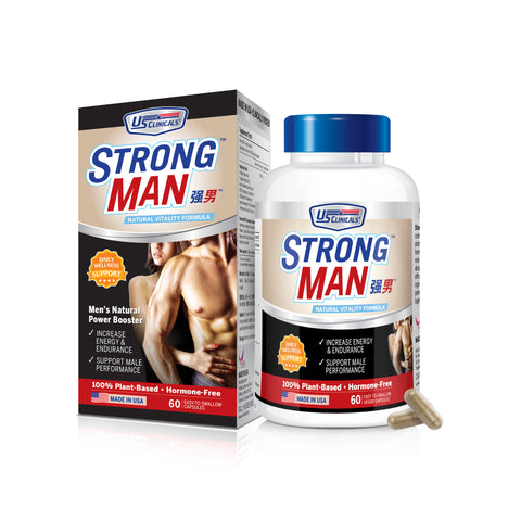 US Clinicals StrongMan is a health supplement which can help man to boost performance and vitality.