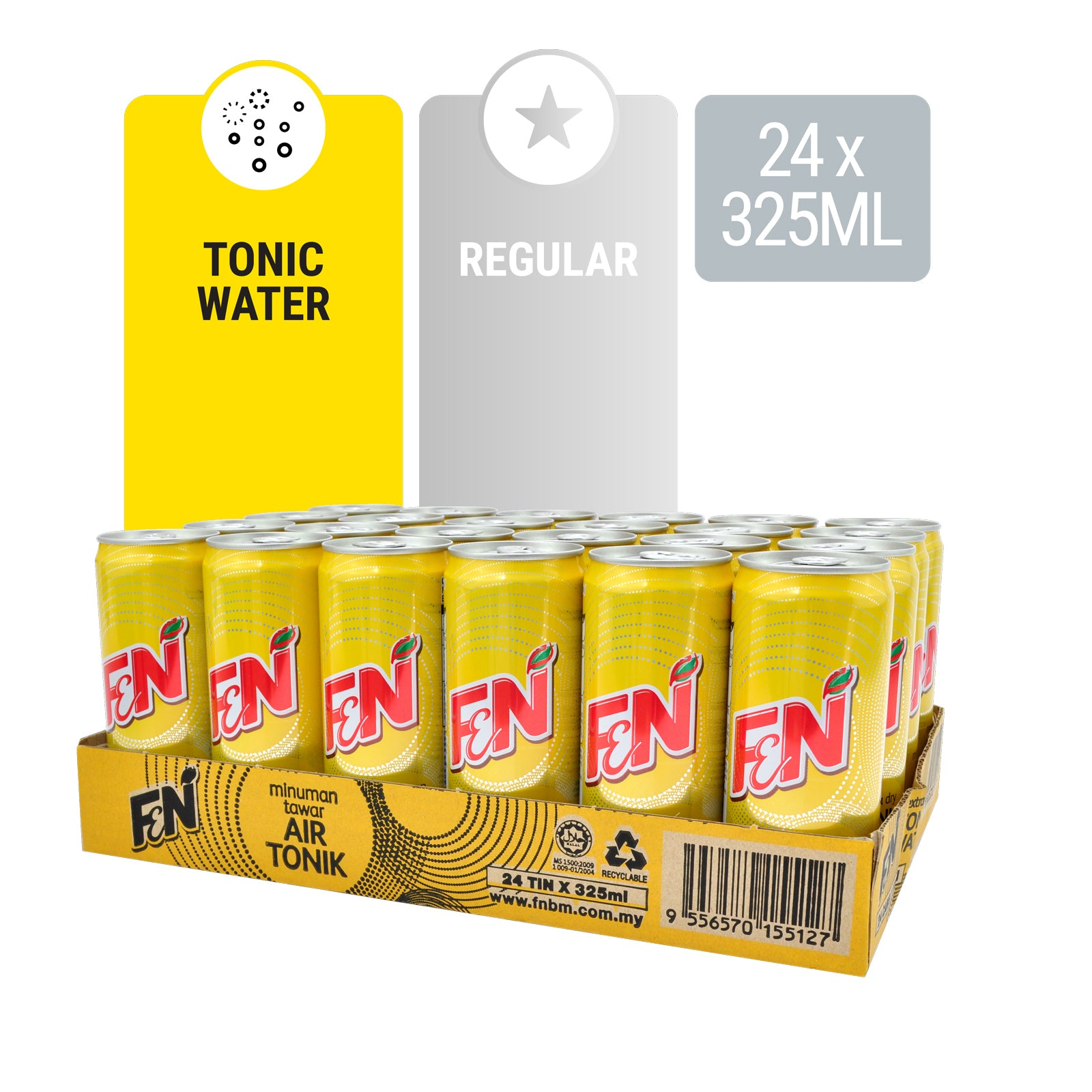 14663-F&N Tonic Water 325ml x 24