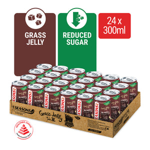 1172140- SEASONS Grass Jelly 300ML X 24