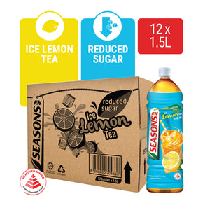 1172205-SEASONS Ice Lemon Tea Reduced Sugar 1.5L x 12