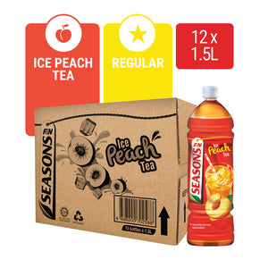 1172143-SEASONS Ice Peach Tea 1.5L x 12