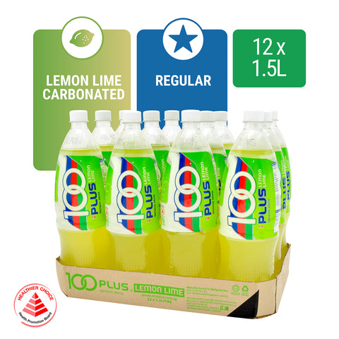 1171141-100PLUS Lemon Lime 1.5L x 12