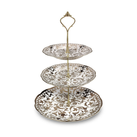3001106- 3-TIER Serving Tray (Hari Raya Premium)