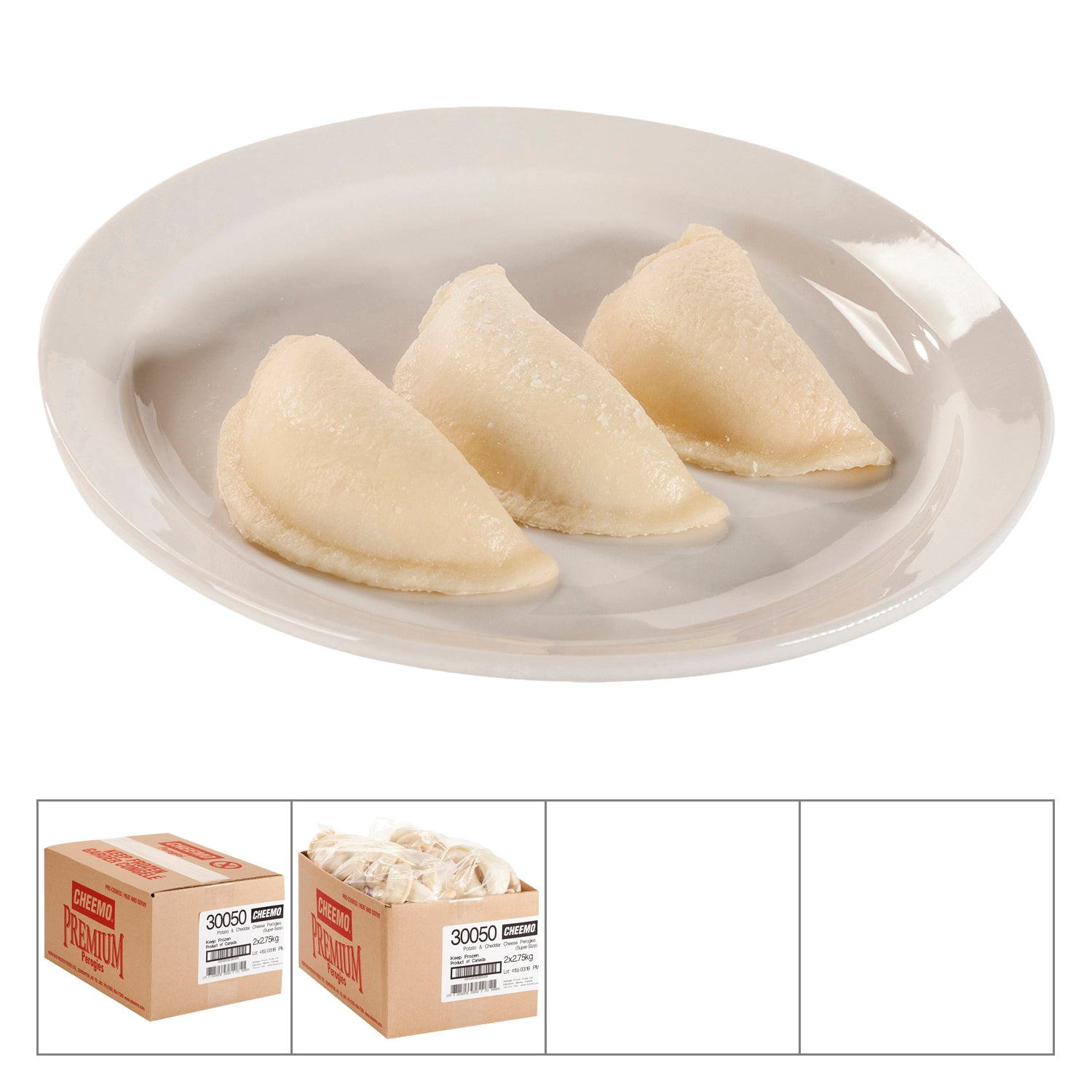 Cheemo Frozen Potato and Cheese Perogies 5.5 kg - 1 Pack [$3.27/kg]