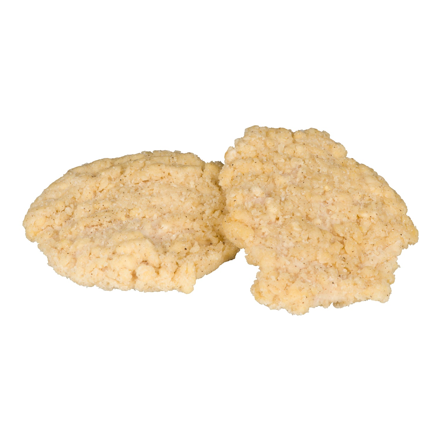 Sysco Classic Frozen Wave Breaded Chicken Breast 4.5 oz - 2 kg - 2 Pack [$19.00/kg]