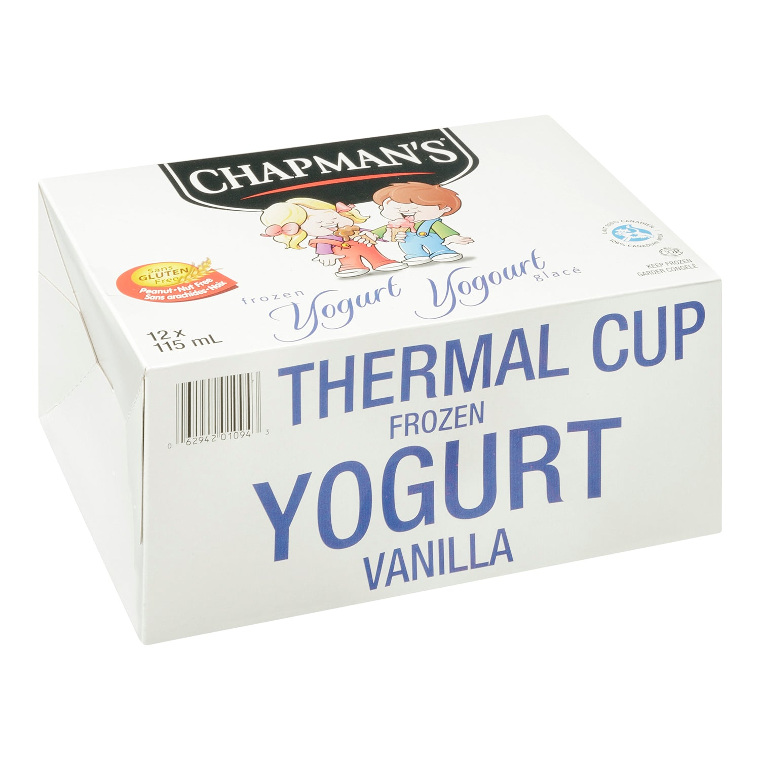 Chapman's Vanilla Yogurt Cups 115 ml - 24 Pack [$0.46/cup]