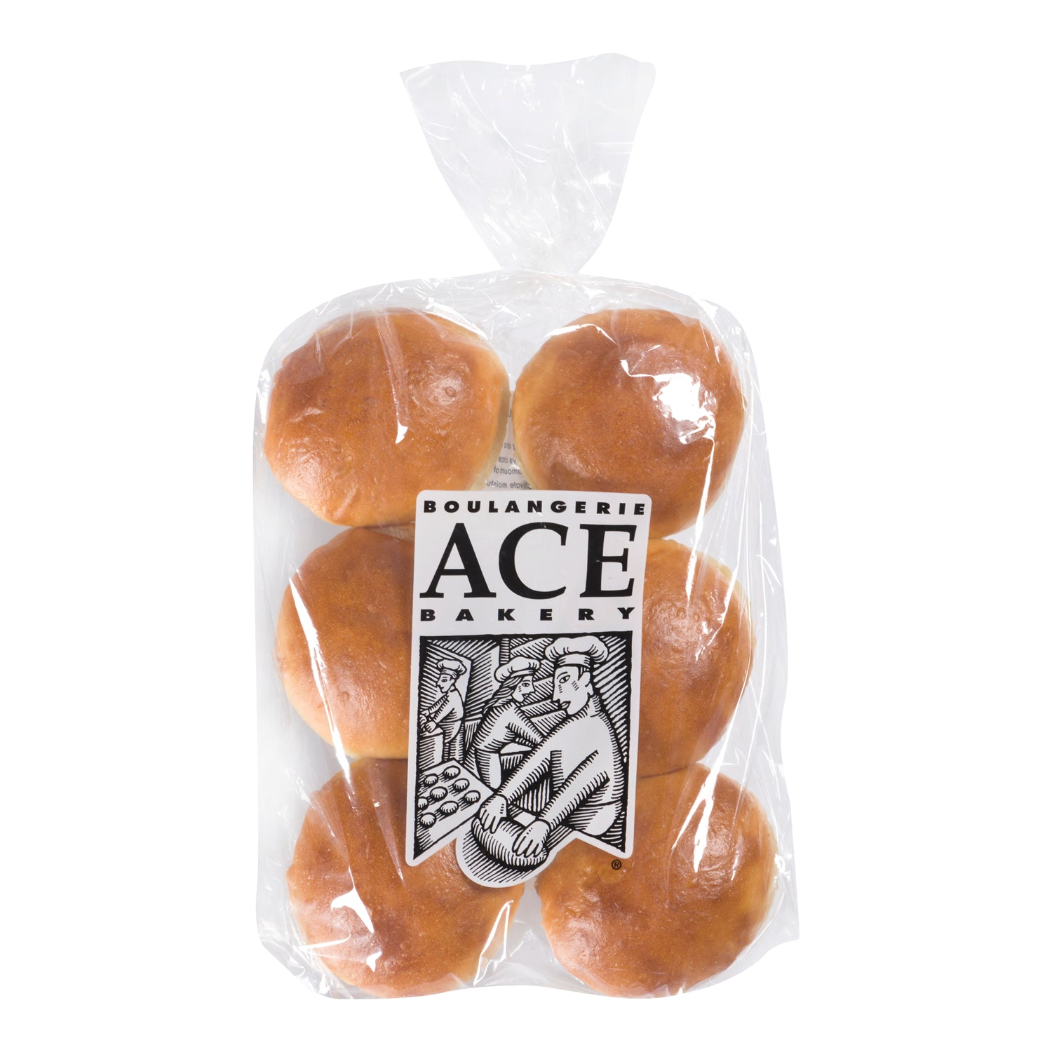 Ace Bakery Frozen Classic Sliced Hamburger Bun 80 g - 48 Pack [$0.73/bun]