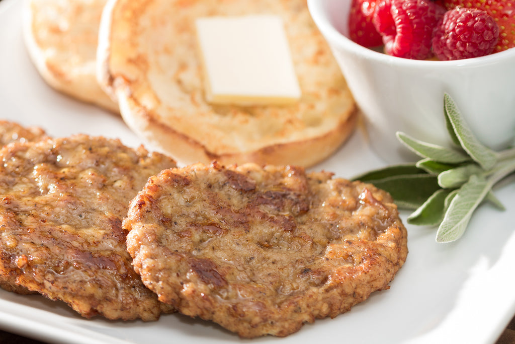 Schneiders Frozen Fully Cooked Round Sausage Patties 50 g - 100 Pack [$0.60/each]