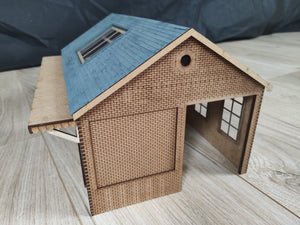 7mm Scale (O Gauge) Goods Shed