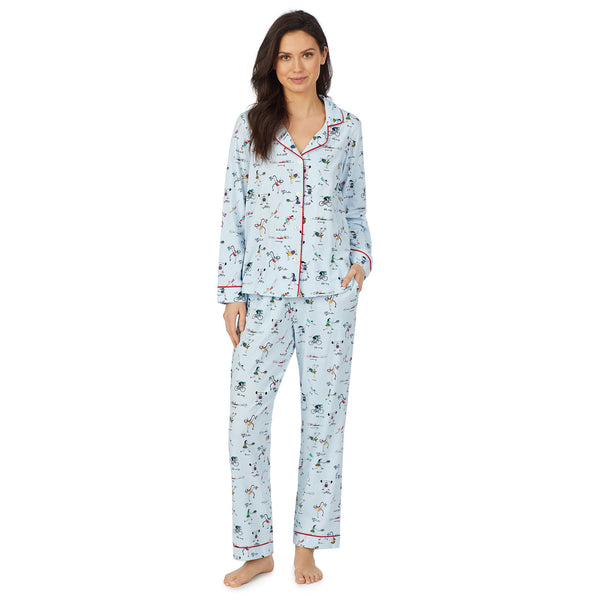 Bed Head Olympic Games Long Sleeve Classic Stretch Jersey PJ Set