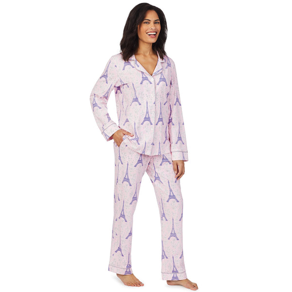 Bed Head Colette's Eiffel Long Sleeve Classic Stretch Jersey PJ Set