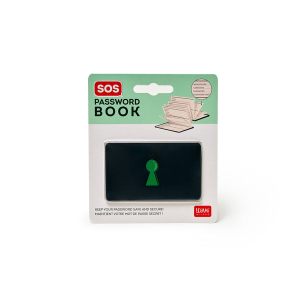 SOS Password Book - Legami