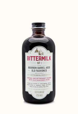 Bittermilk No.1: Bourbon Barrel Aged Old Fashioned