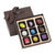 Christophe Artisan Chocolatier-Pâtissier 9 Piece Hand-Painted Chocolate Box