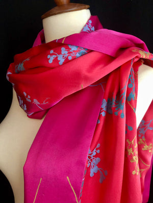 Paige Hathaway Thorn Small Silk Scarf