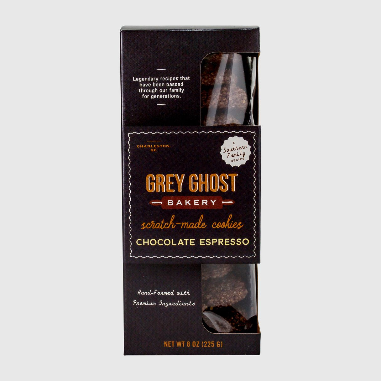 Grey Ghost Bakery Chocolate Espresso Cookies