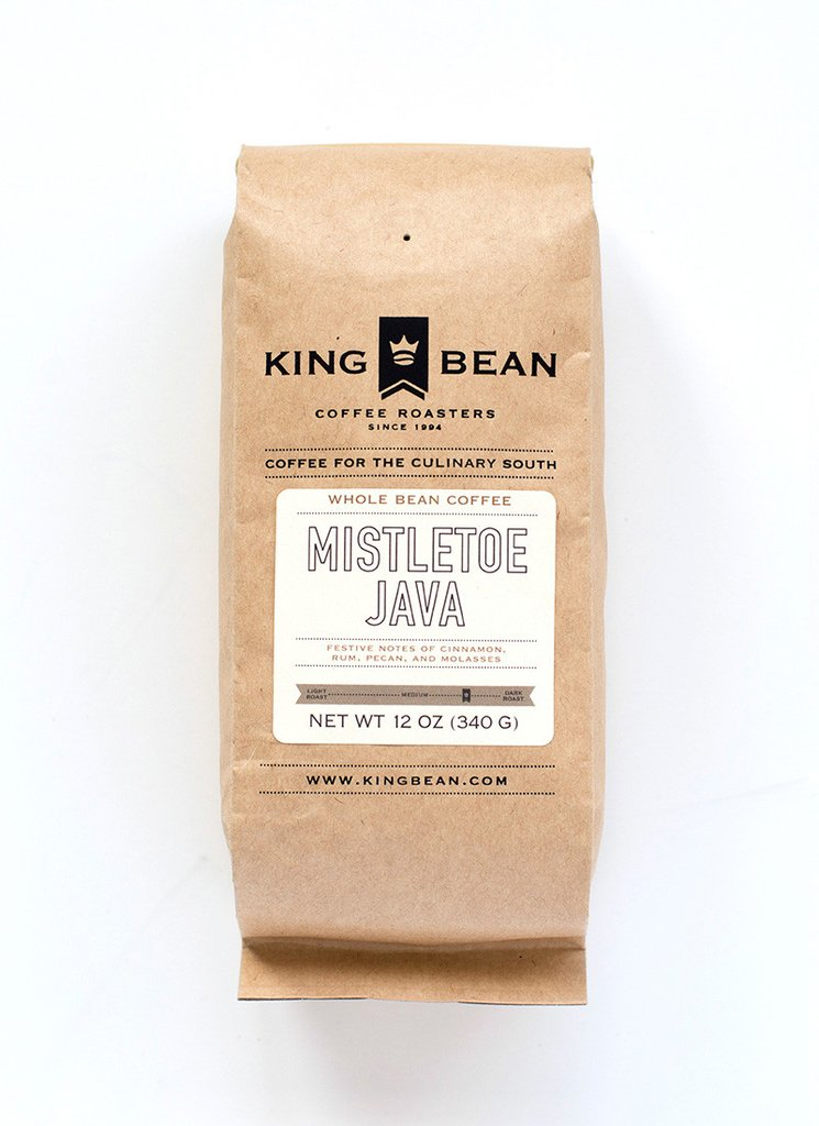 King Bean Coffee Roasters Mistletoe Java