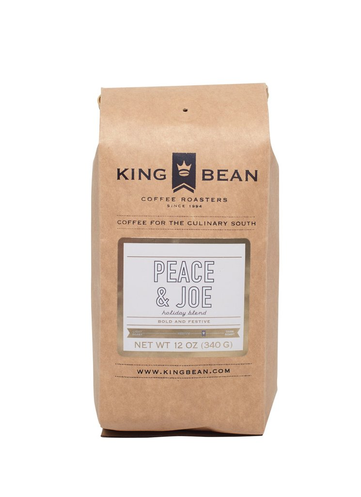 King Bean Coffee Roasters Peace & Joe Holiday Blend