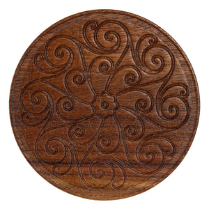 Meadors Walnut Coasters (Set of 6)