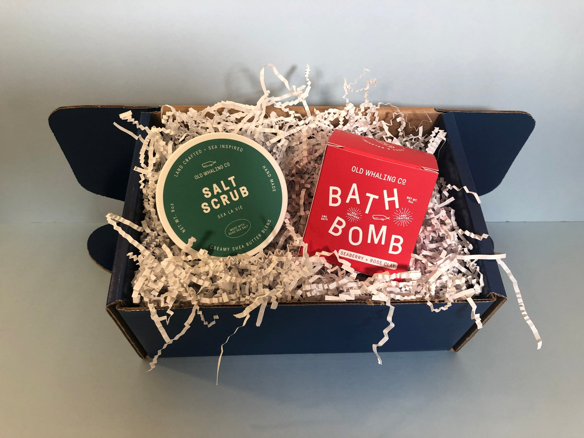 Perfect Pair: Old Whaling Company Salt Scrub + Bath Bomb