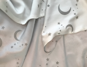 Paige Hathway Thorn Moon & Stars Baby Blanket
