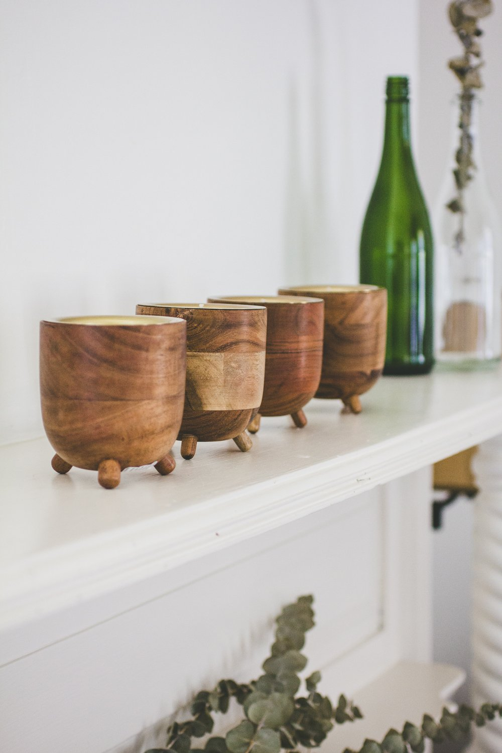 Rewined Candle Co. Champagne Barrel Aged