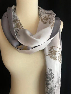 Paige Hathaway Thorn Large Silk Scarf