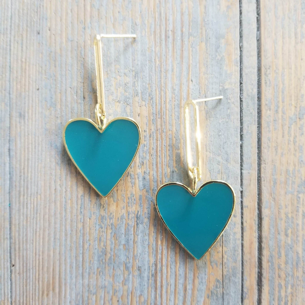 Hearts on Fire Turquoise Earrings