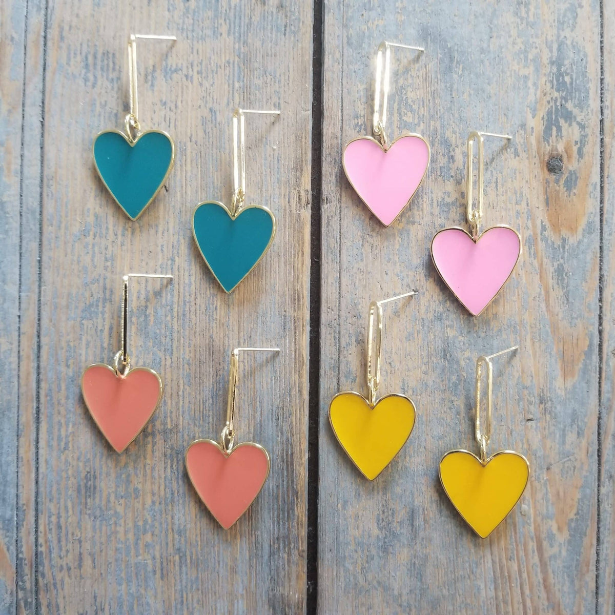 Hearts on Fire Bright Yellow Earrings