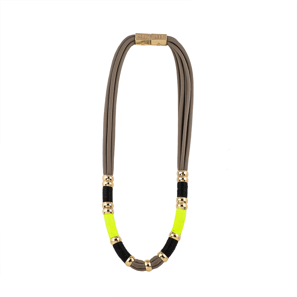 Colorblock Neon Vibe Necklace