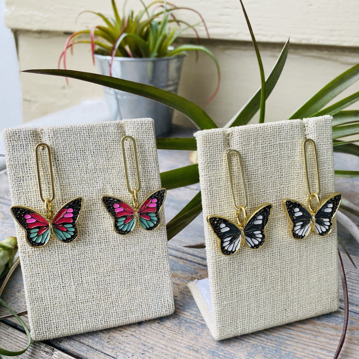 Butterfly Passion Fruit Earrings