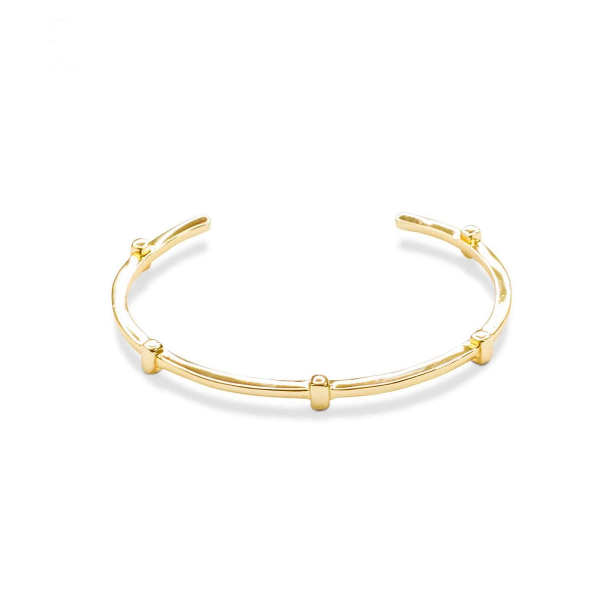 Metal Gold Thin Bracelet