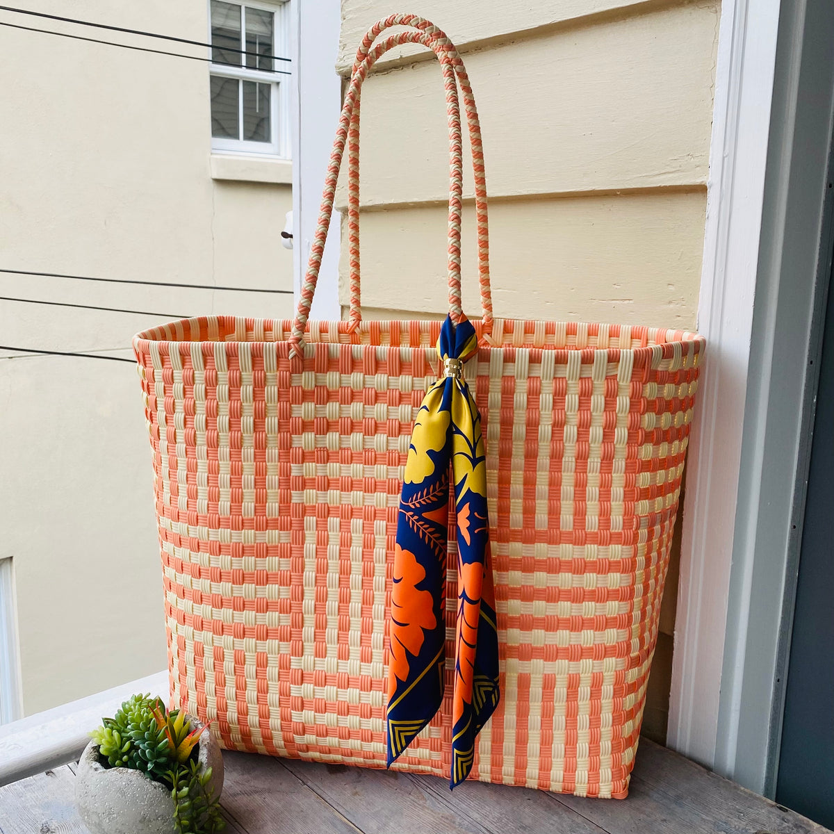 Peach and Cream Ultimate Beach Bag