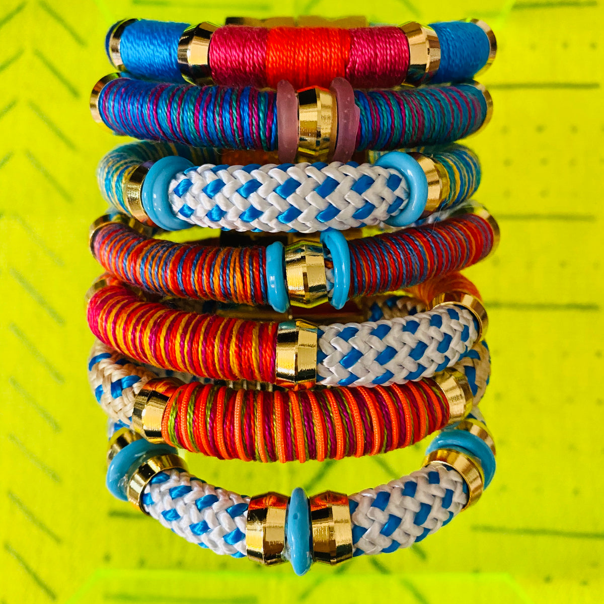 Colorblock Spring Break Bracelet
