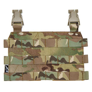 HRT Molle Placard-Plate Carrier Accessories-HRT Tactical Gear-Multicam-Utiletē