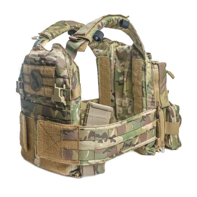 HRT Warrior Poet Society Multi Hanger Pouch-Plate Carrier Accessories-HRT Tactical Gear-Utiletē