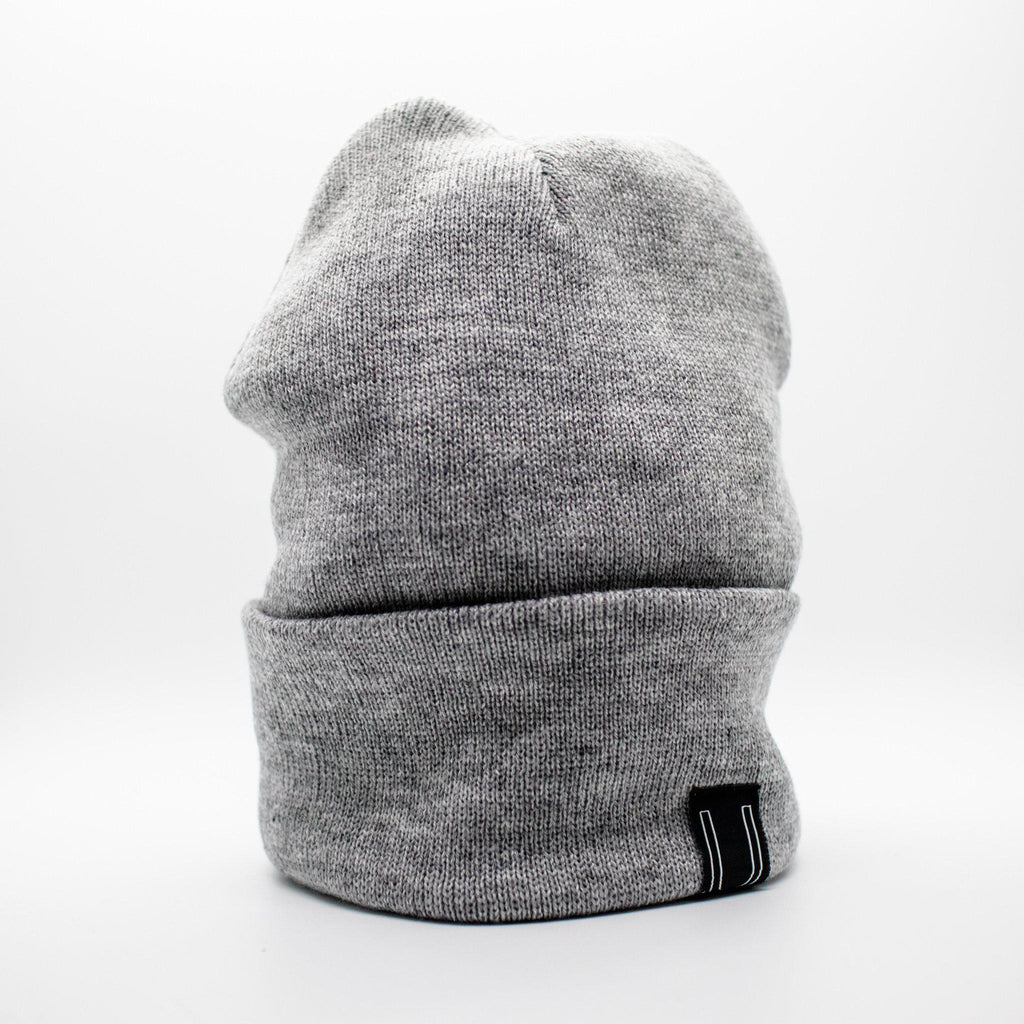 The Classic Beanie, Heather Grey-Hats-Utiletē-Utiletē