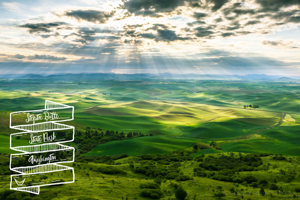 Steptoe Butte State Park, Washington