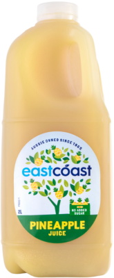2L East Coast Juice - Pineapple