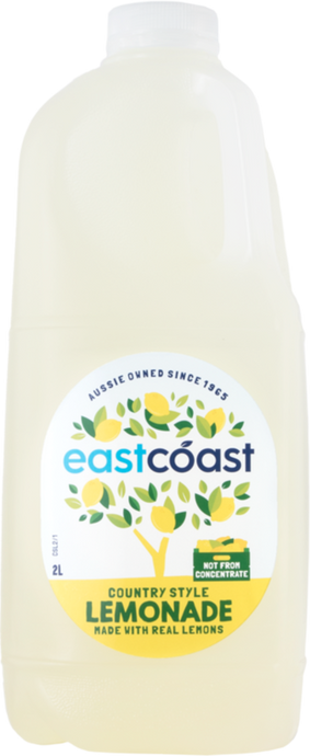 2L East Coast Juice - Lemonade