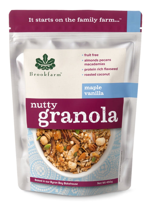Nutty Granola - Maple Vanilla 450g