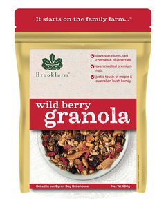 Nutty Granola - Wild Berry