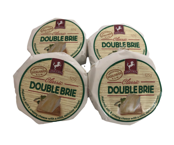 Double Brie Cheese (125gm)
