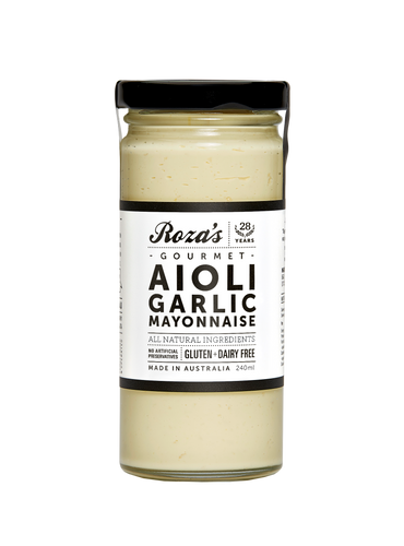 Roza's Ailoi Garlic Mayonnaise 240ml (GF)