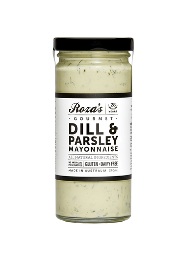 Roza's Dill & Parsley Mayonnaise 240ml (GF)