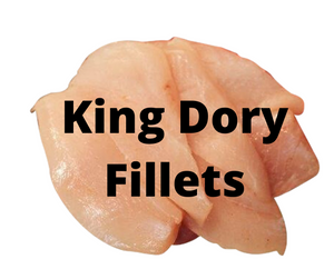 FRESH King Dory Fillets - skinless (1kg)