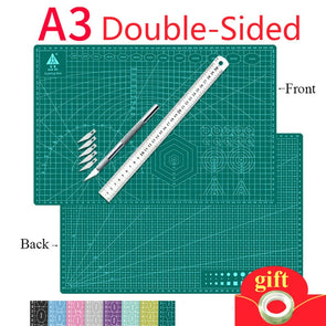 A3 Paper Office Self Healing Cutting Mats DIY Tool Leather Paper Engraving Board
